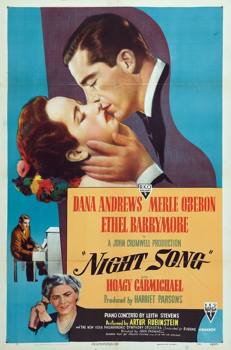 Night Song (film) movie poster