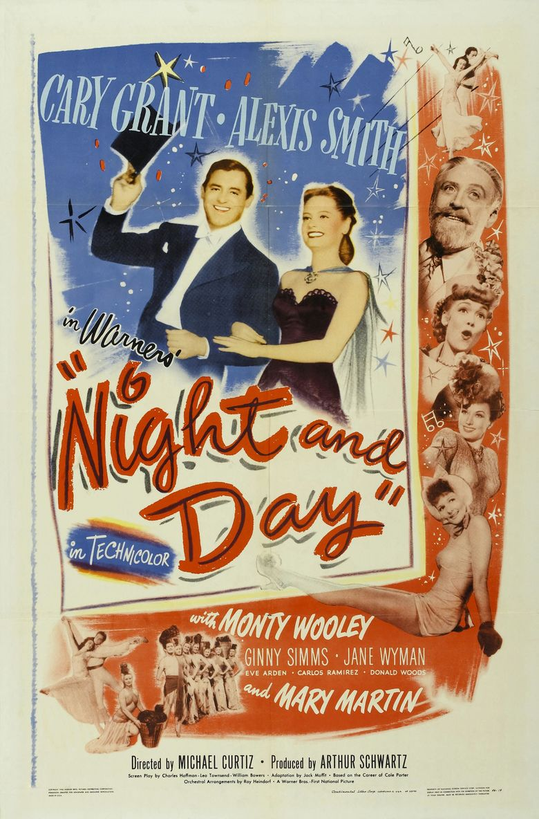 Night and Day (1946 film) movie poster