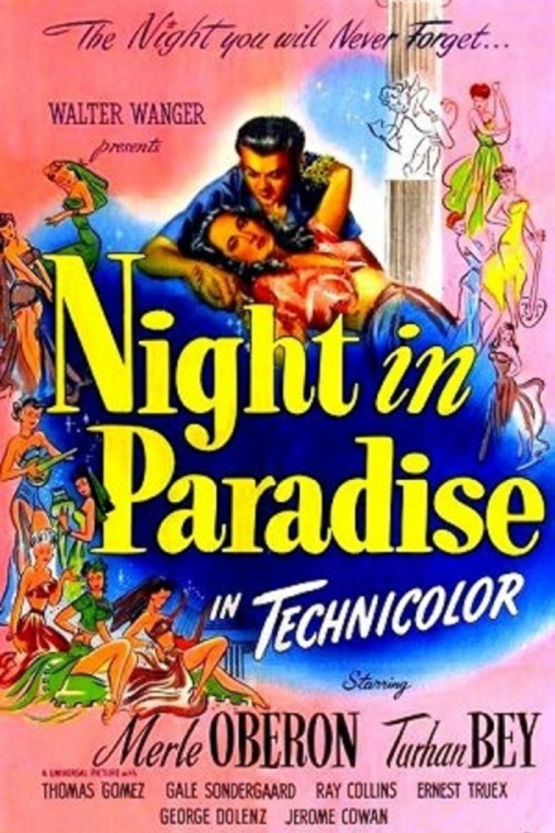 Night in Paradise movie poster