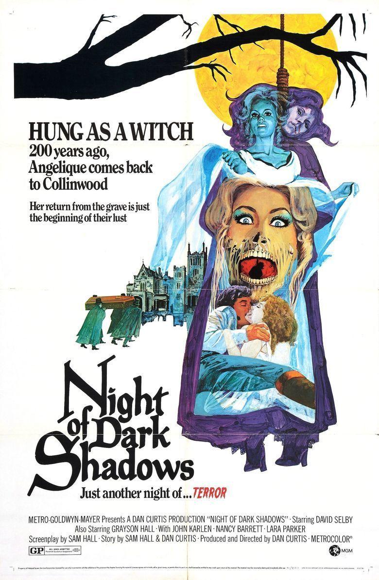 Night of Dark Shadows movie poster