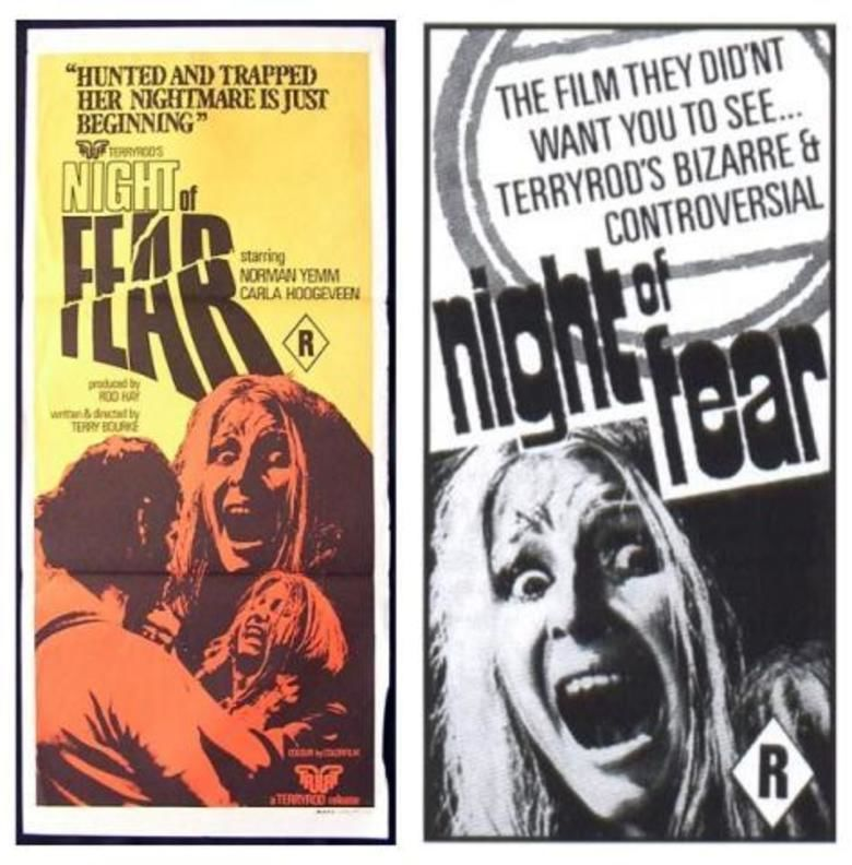 Night of Fear (film) movie poster