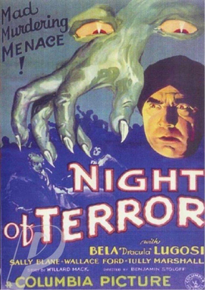 Night of Terror movie poster