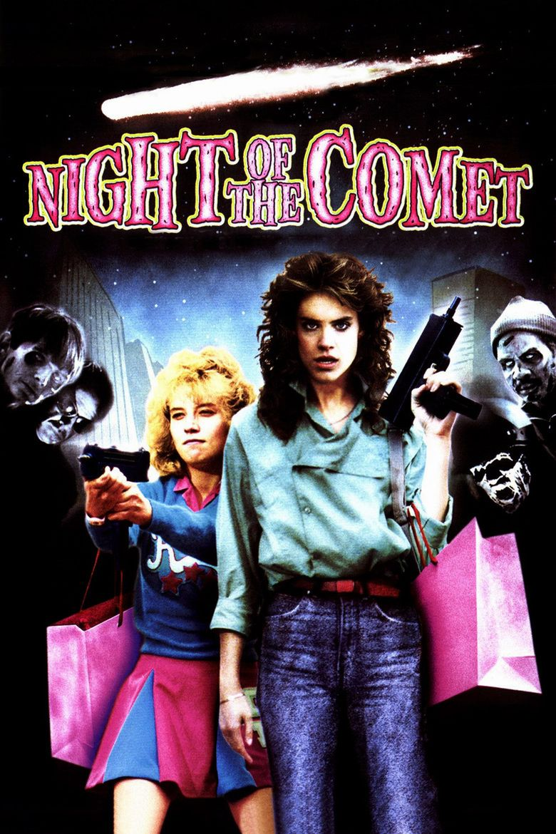 Night of the Comet movie poster