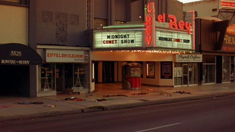 Night of the Comet movie scenes