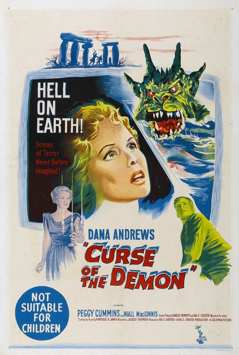 Night of the Demon movie poster