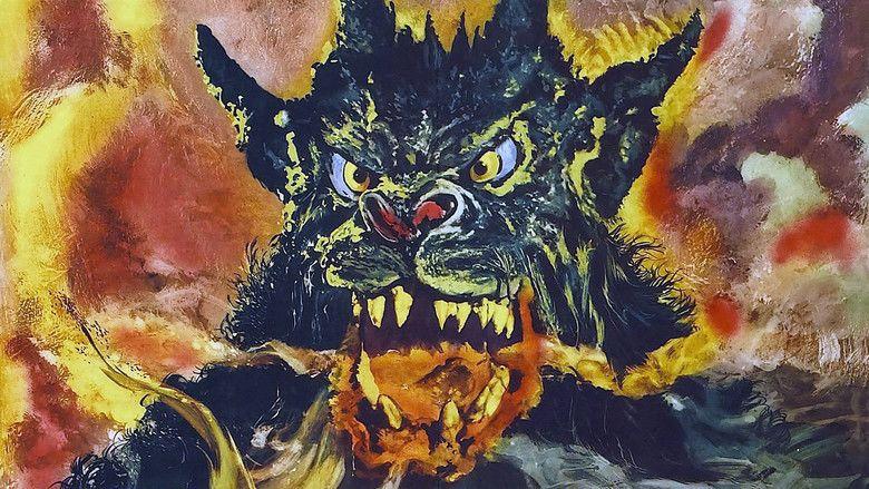 Night of the Demon movie scenes