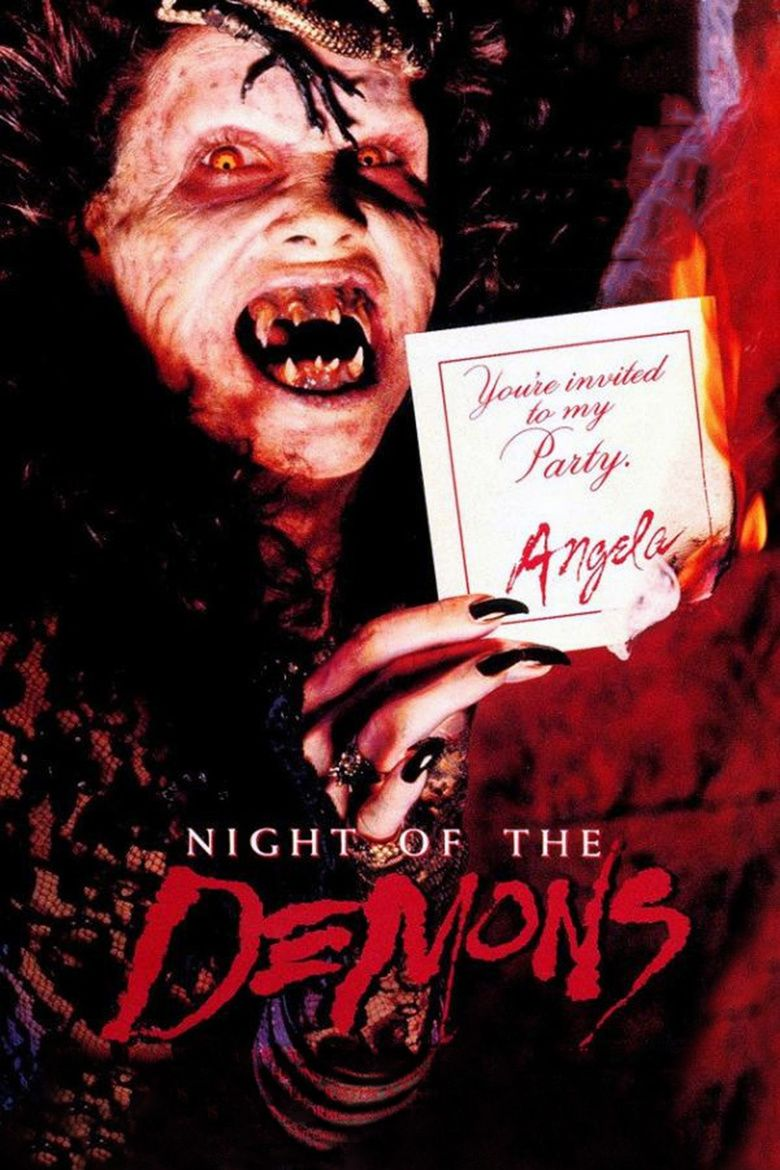 Night of the Demons (1988 film) movie poster