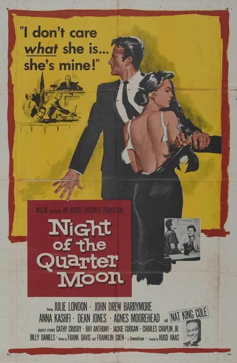 Night of the Quarter Moon movie poster