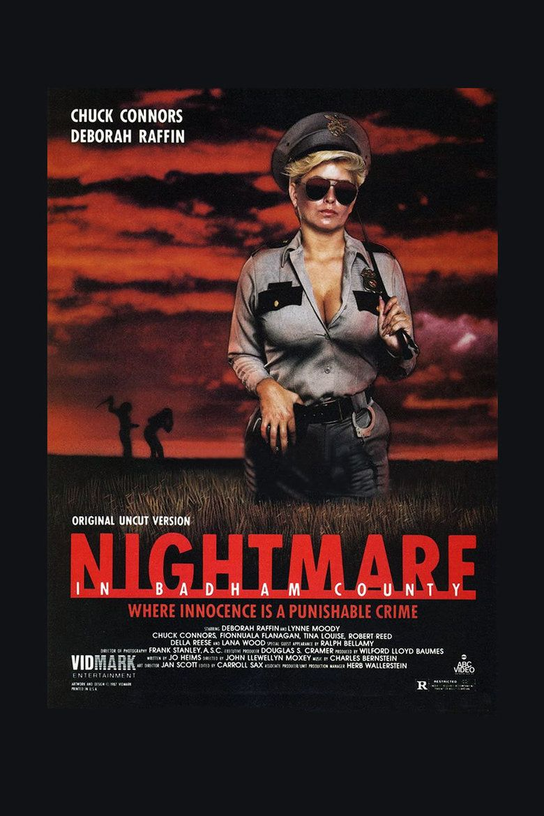 Nightmare in Badham County movie poster