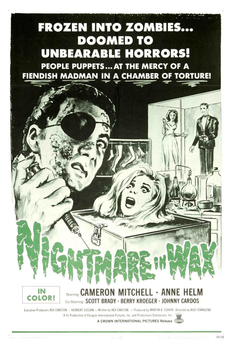 Nightmare in Wax movie poster