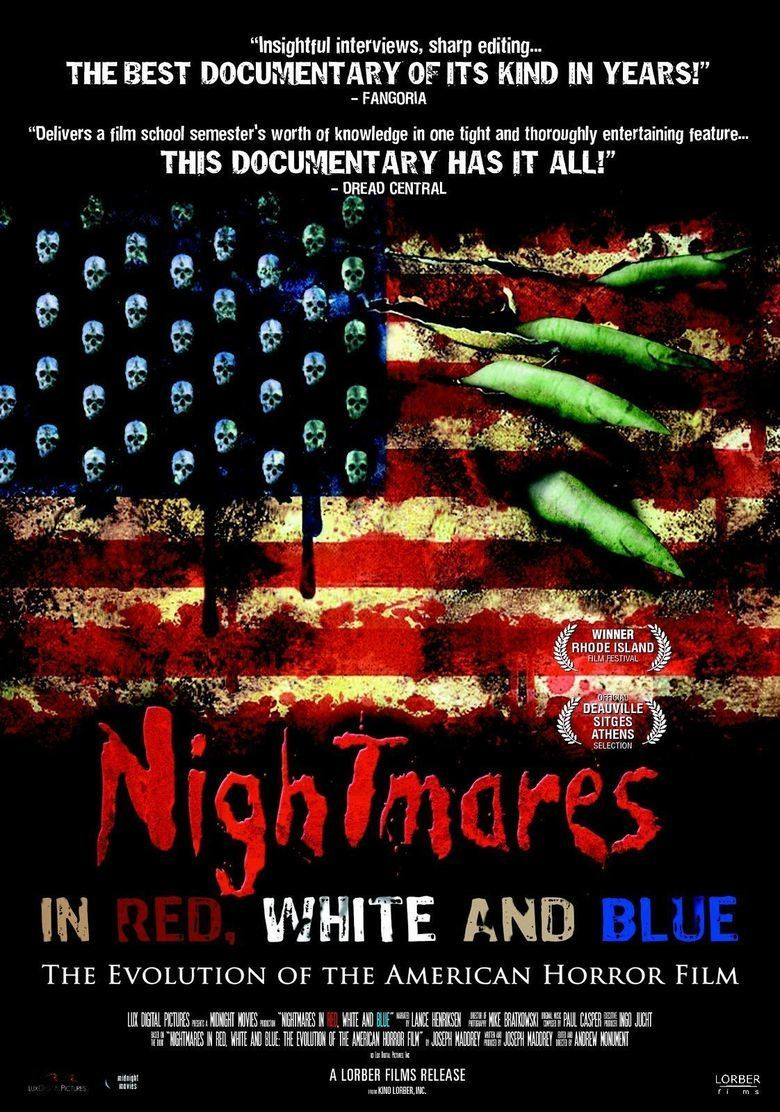 Nightmares in Red, White and Blue movie poster