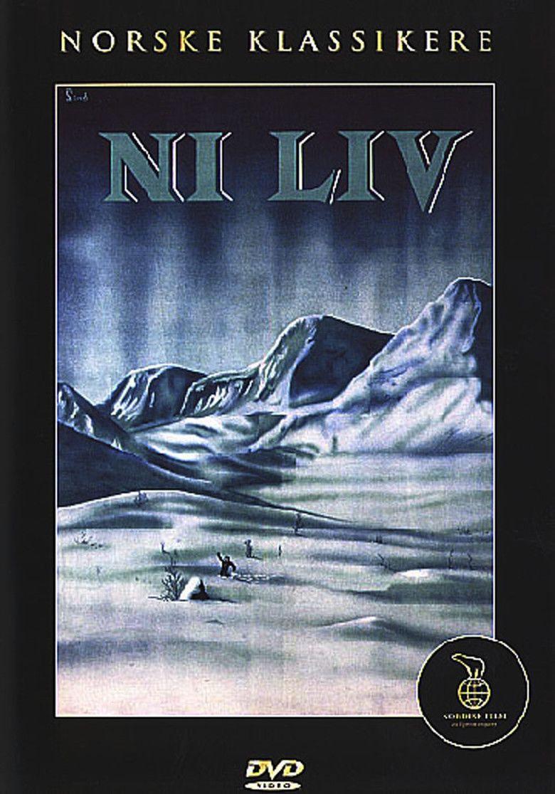 Nine Lives (1957 film) movie poster