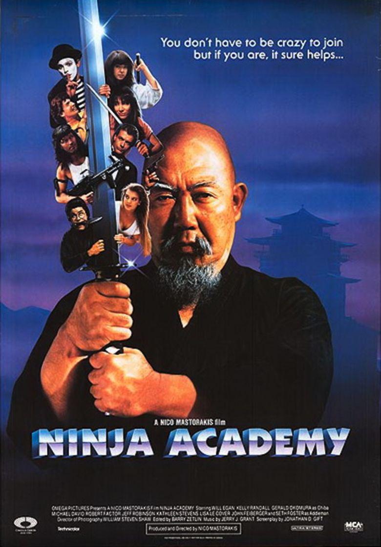 Ninja Academy movie poster