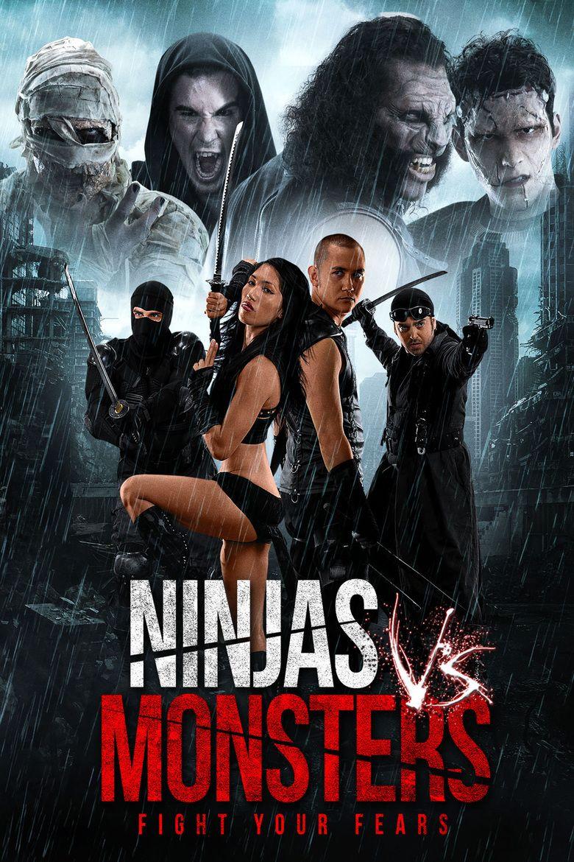 Ninjas vs Zombies movie poster