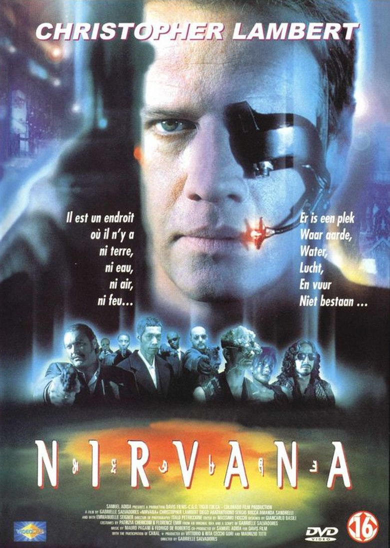 Nirvana (film) movie poster