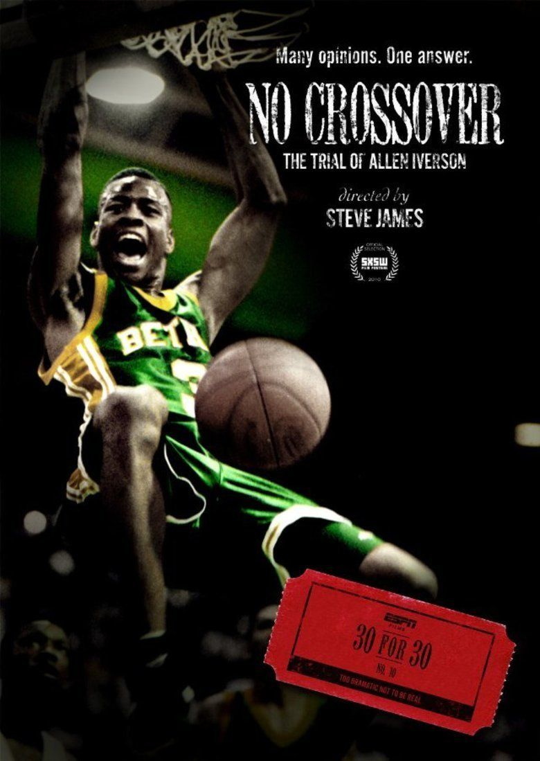 No Crossover: The Trial of Allen Iverson movie poster
