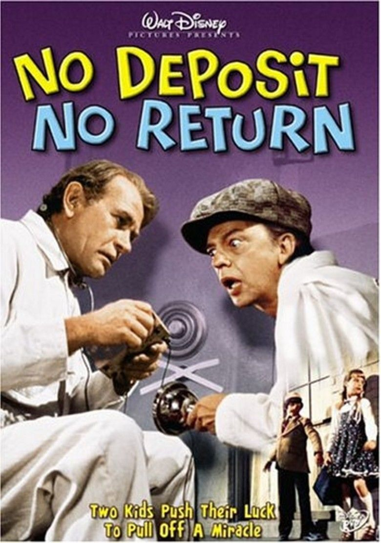 No Deposit, No Return movie poster