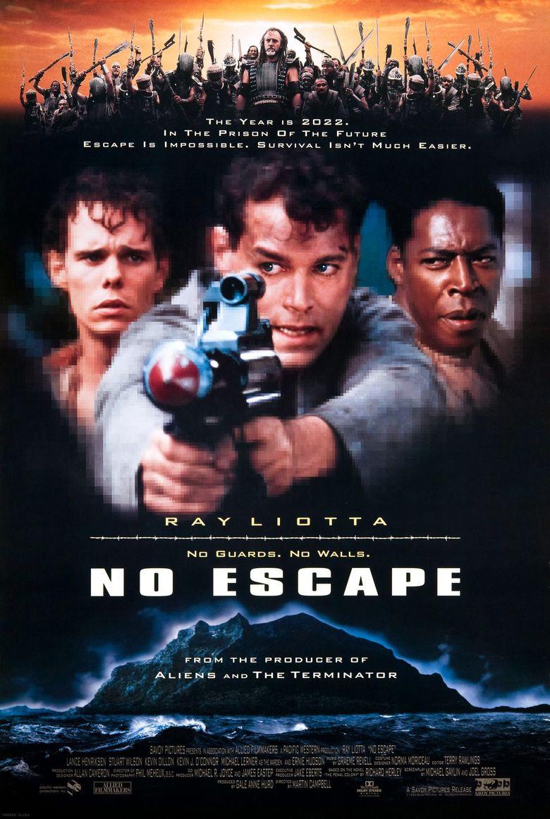 No Escape (1994 film) movie poster