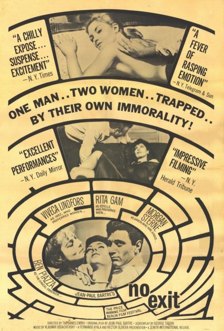 No Exit (1962 film) movie poster