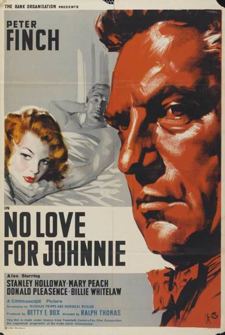 No Love for Johnnie movie poster