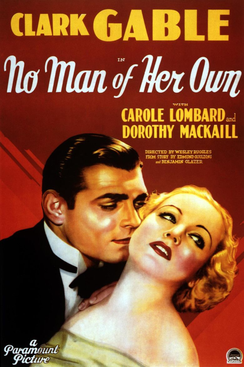 No Man of Her Own (1932 film) movie poster