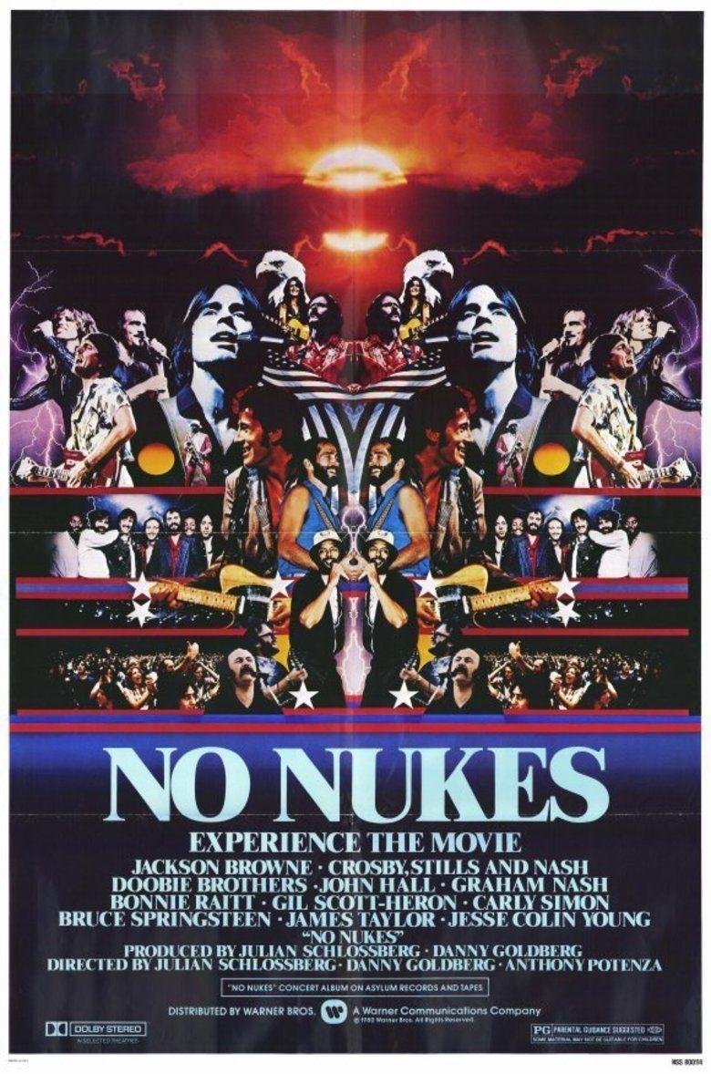 No Nukes (film) movie poster