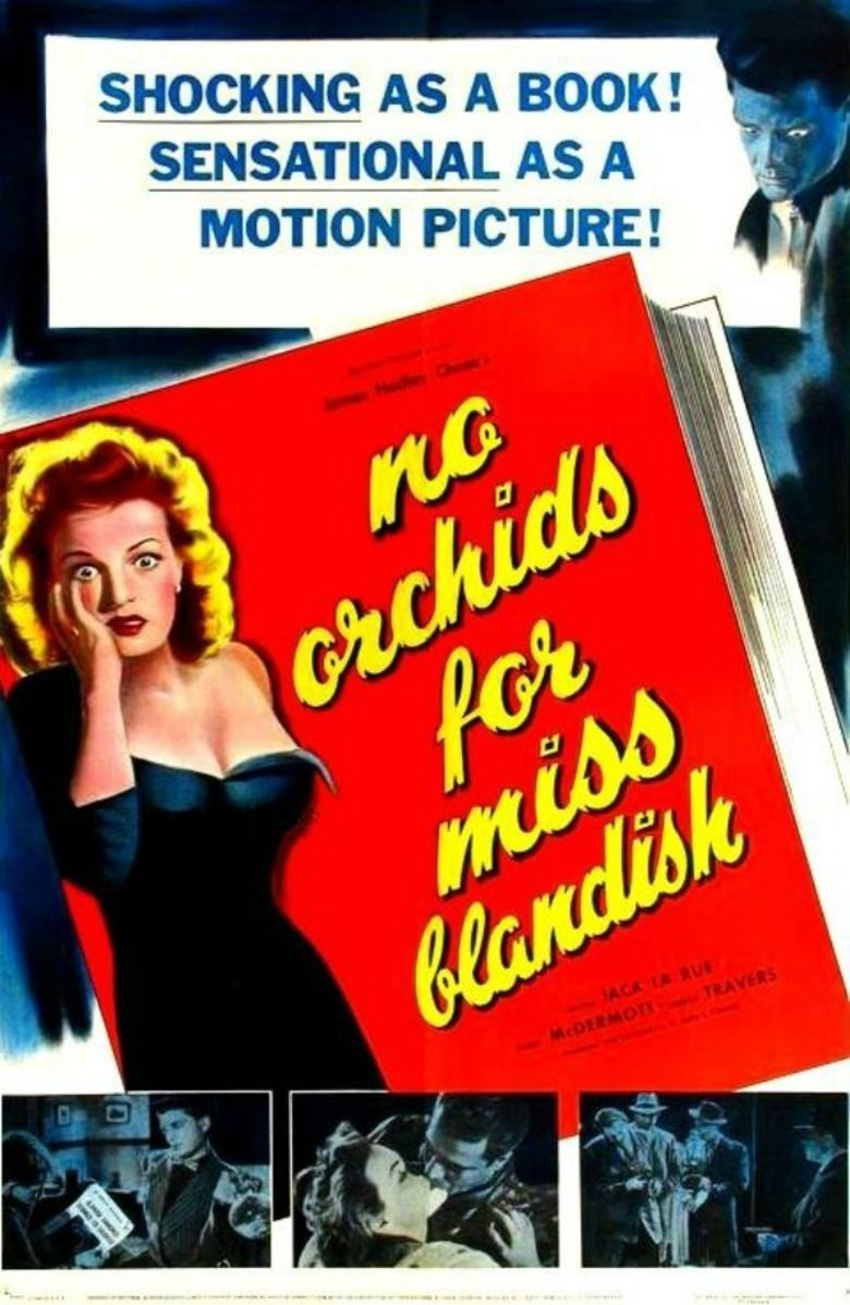 No Orchids for Miss Blandish (film) movie poster