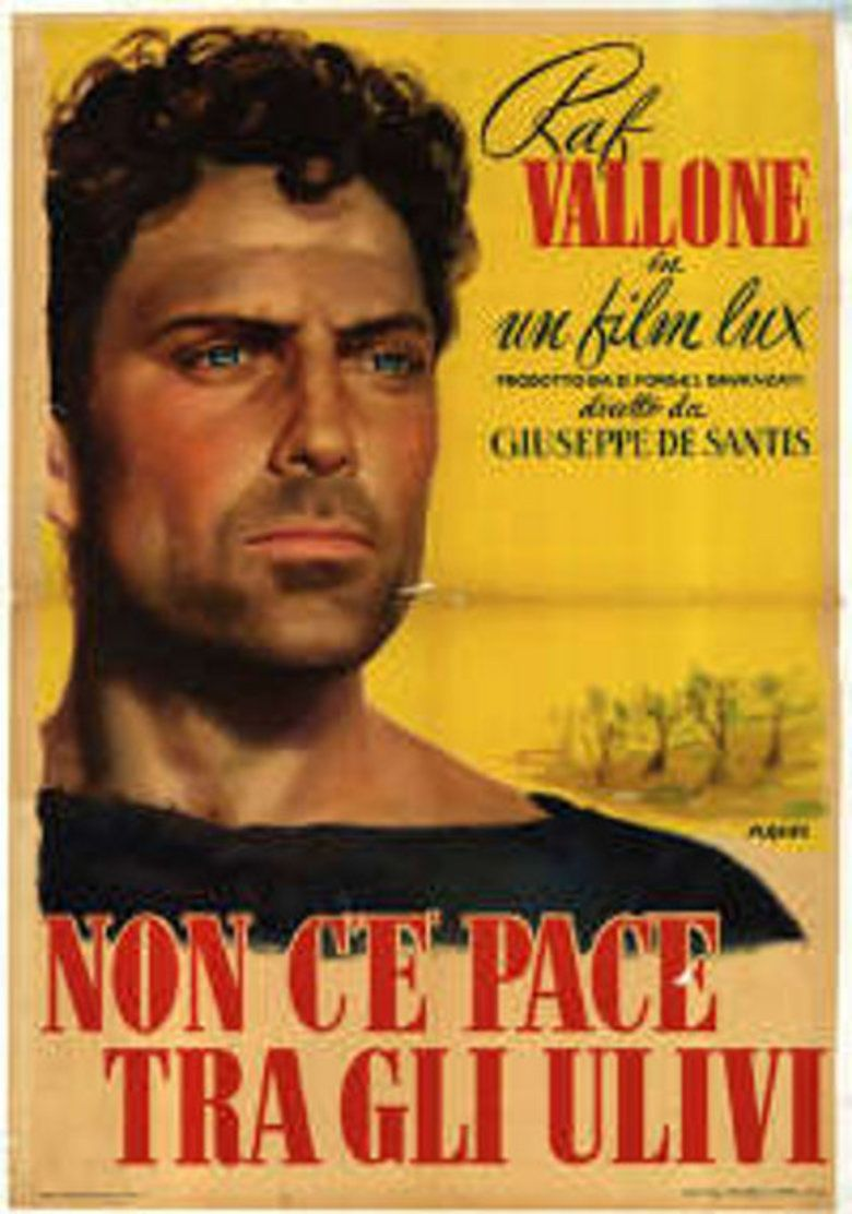 No Peace Under the Olive Tree movie poster