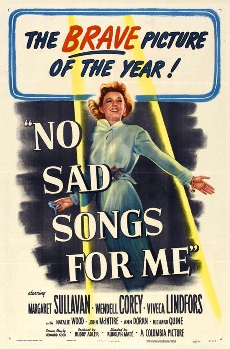 No Sad Songs for Me movie poster