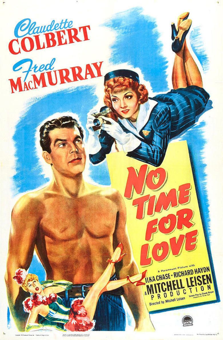 No Time for Love (1943 film) movie poster