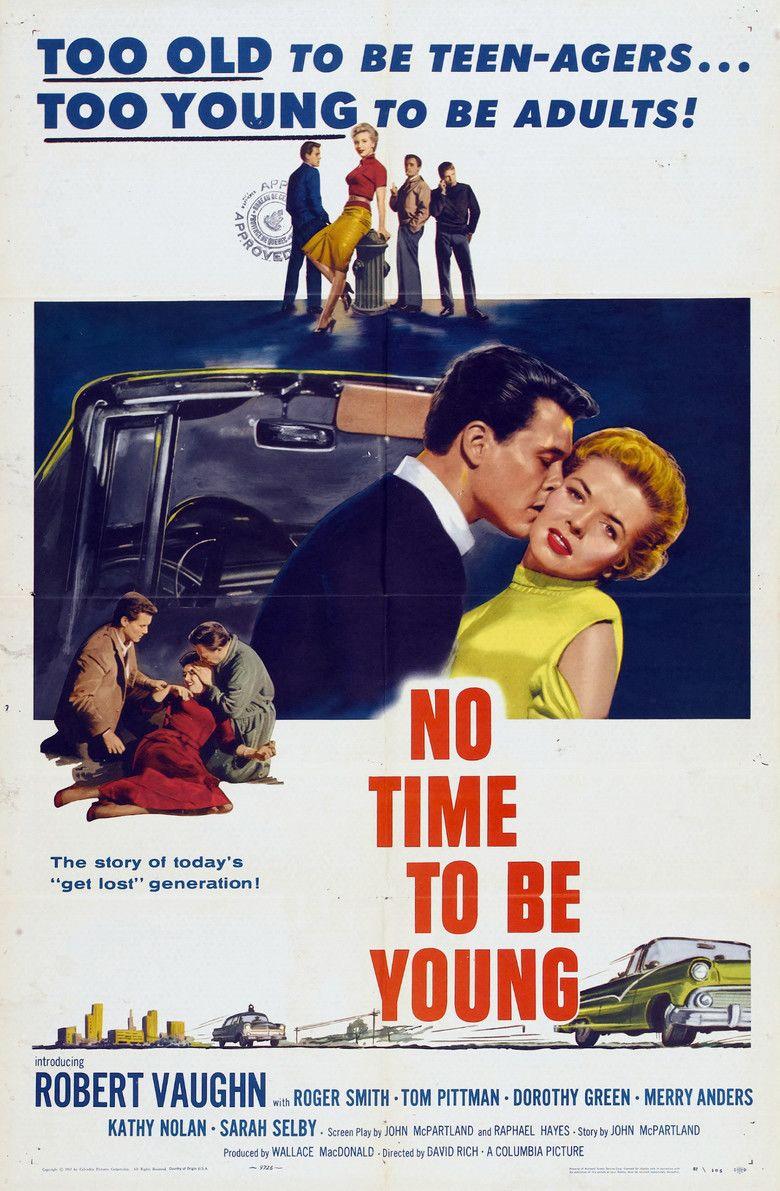 No Time to Be Young movie poster
