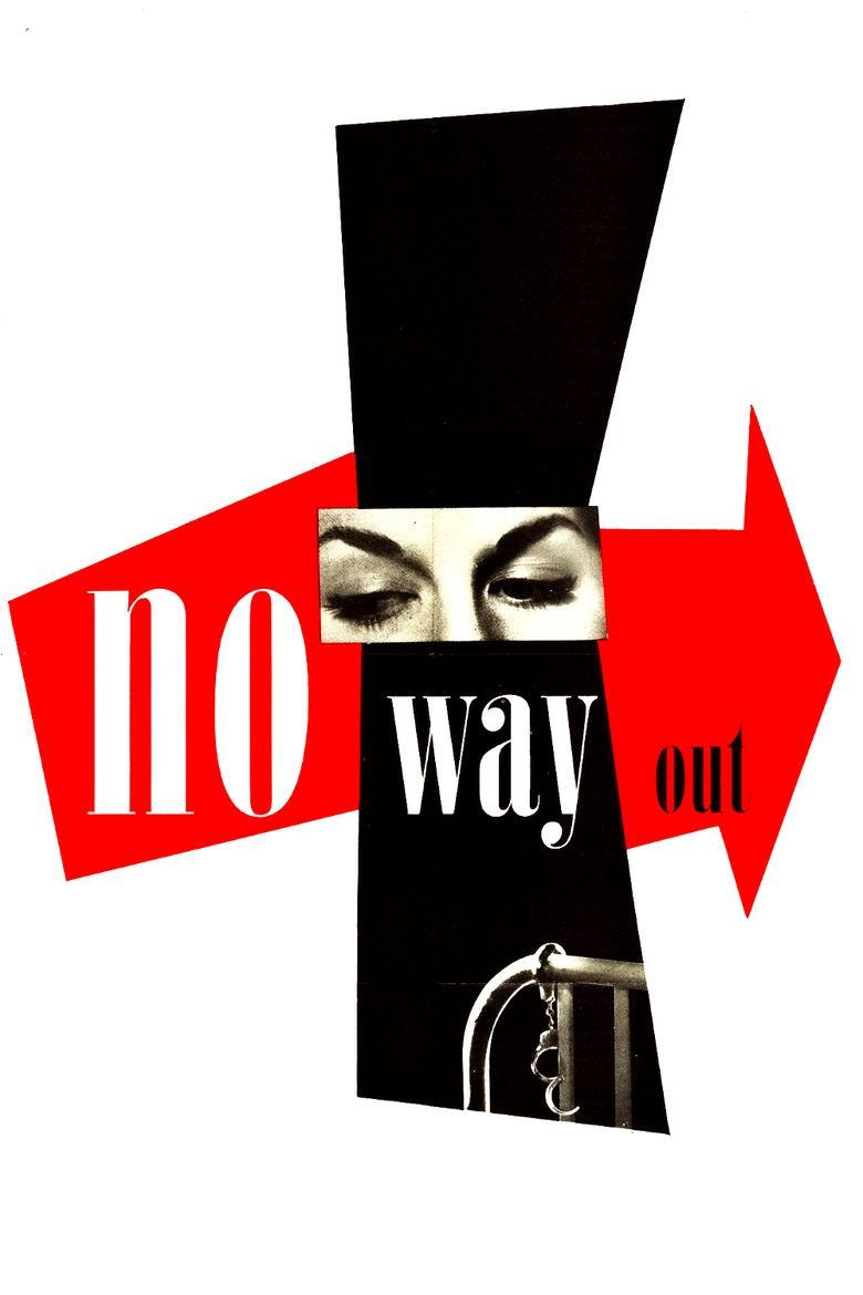 No Way Out (1950 film) movie poster
