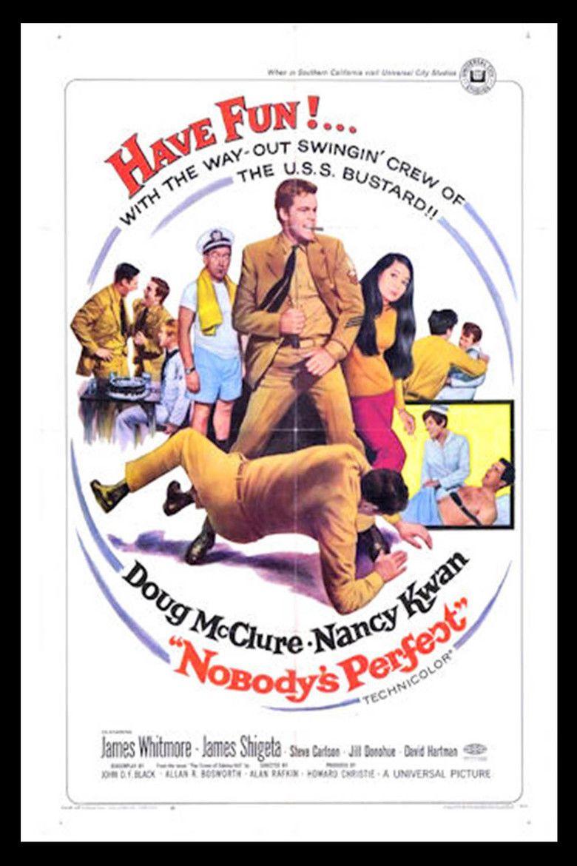 Nobodys Perfect (1968 film) movie poster