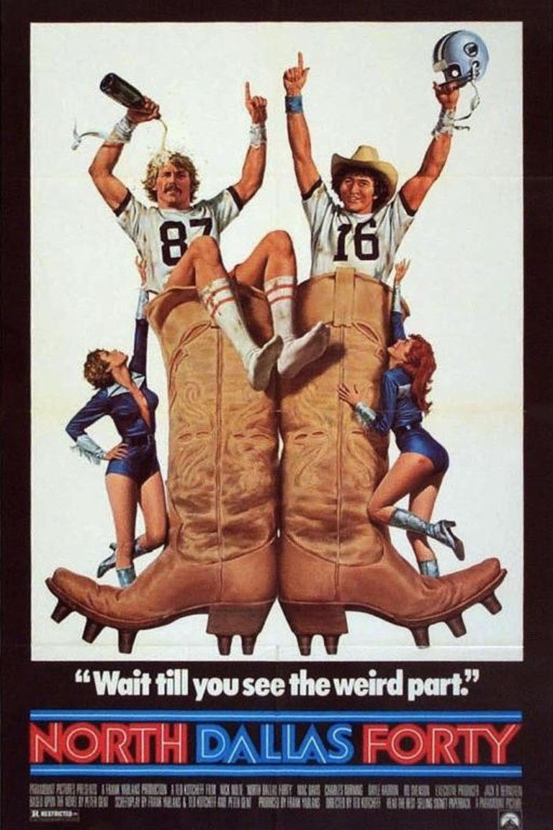 North Dallas Forty movie poster