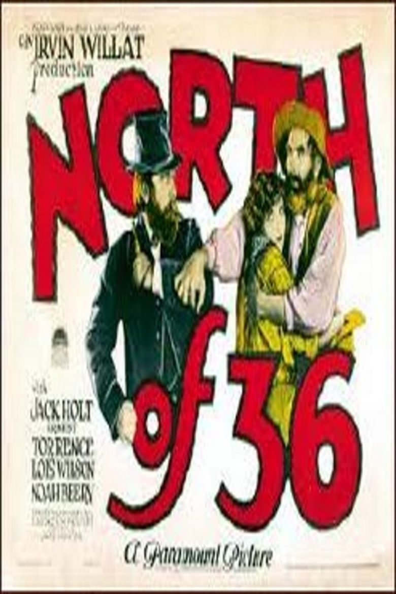 North of 36 movie poster
