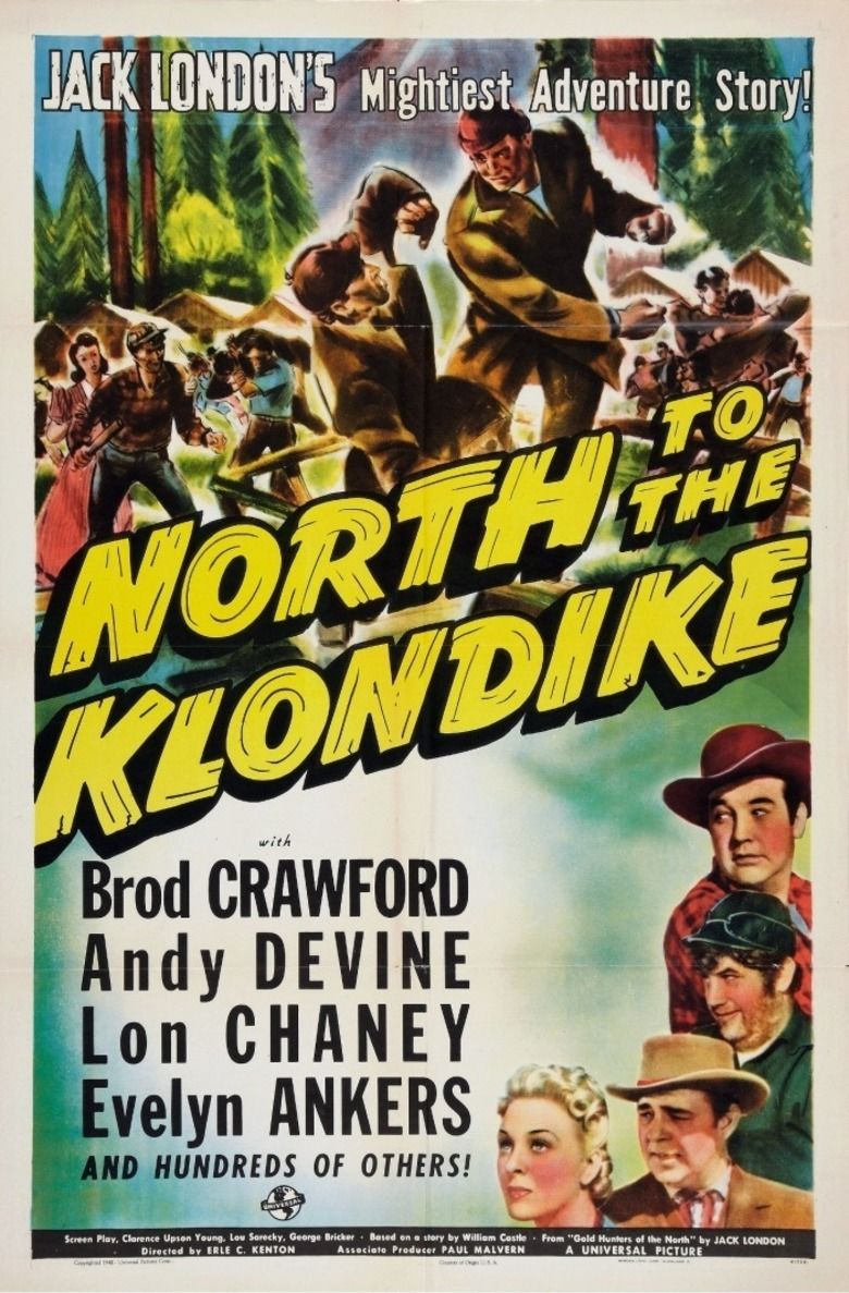 North to the Klondike movie poster