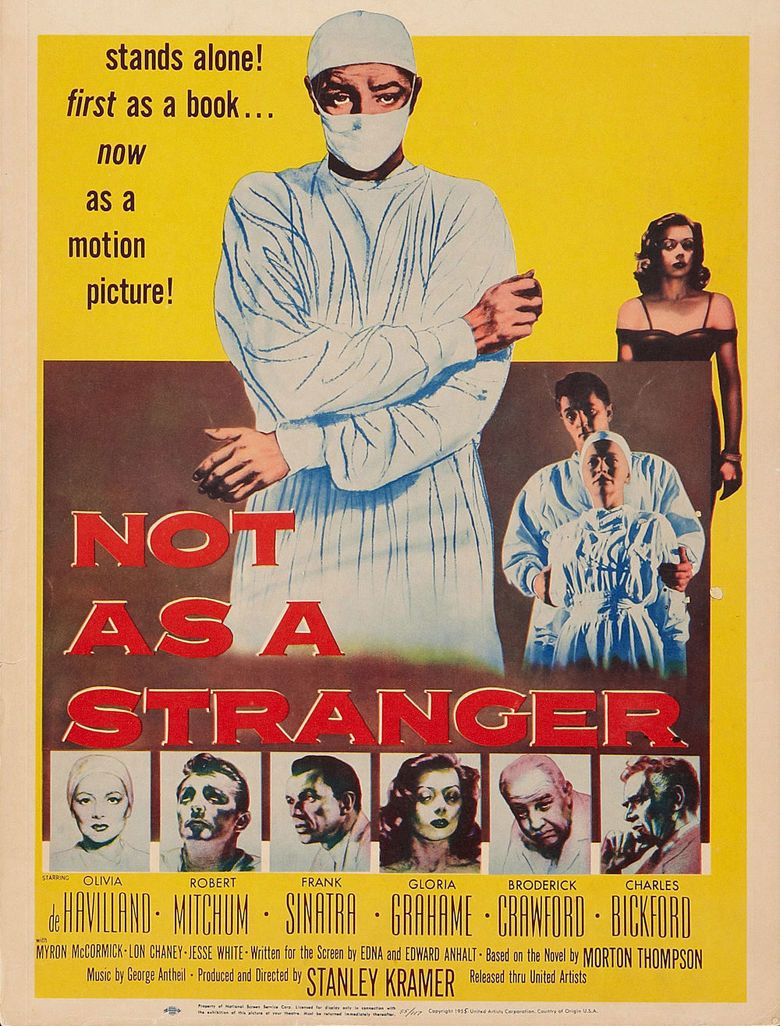 Not as a Stranger movie poster