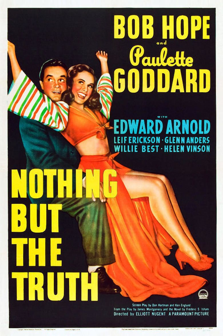 Nothing But the Truth (1941 film) movie poster