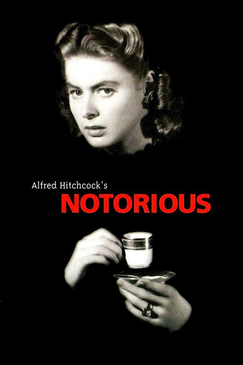 Notorious (1946 film) movie poster