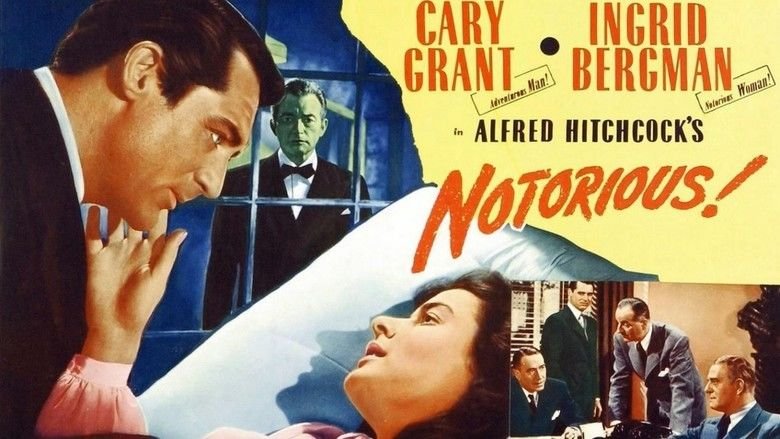 Notorious (1946 film) movie scenes