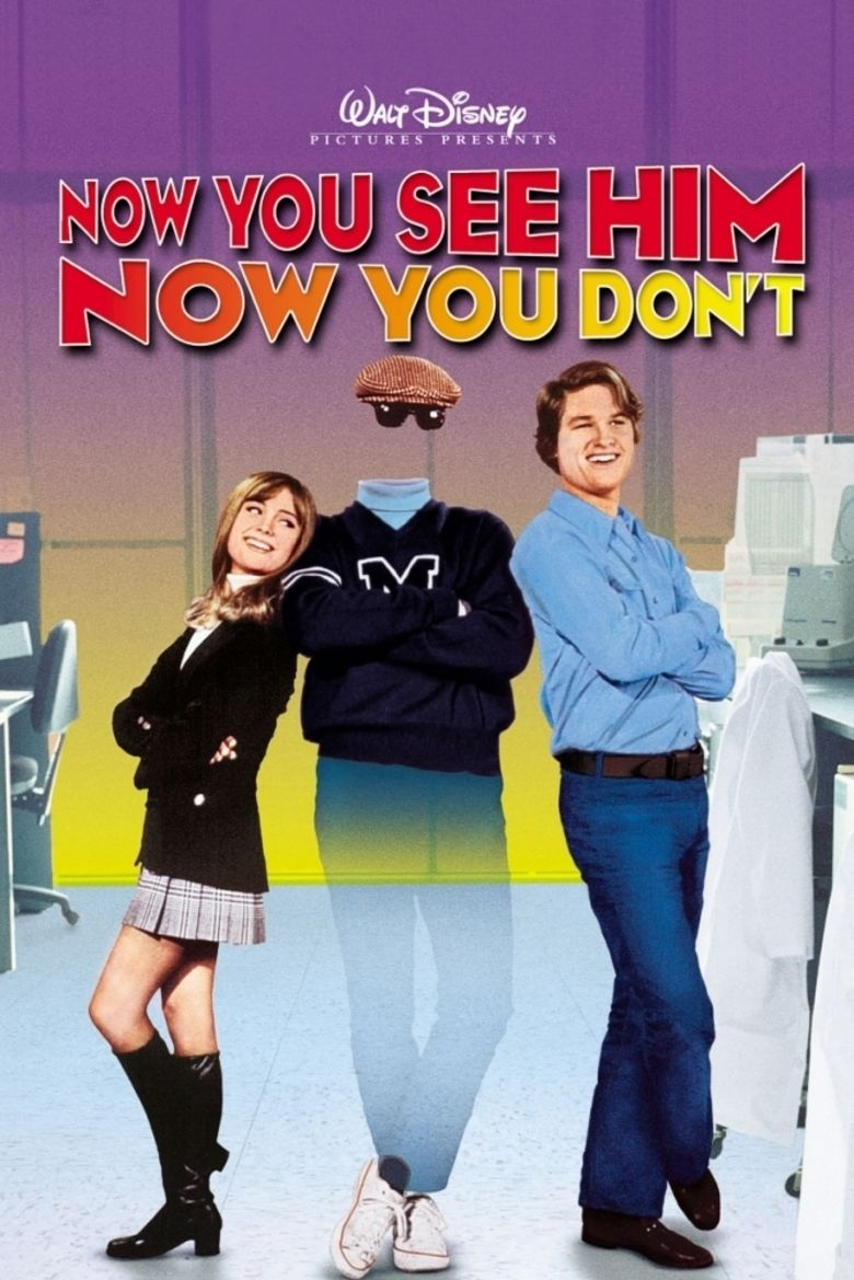 Now You See Him, Now You Dont movie poster