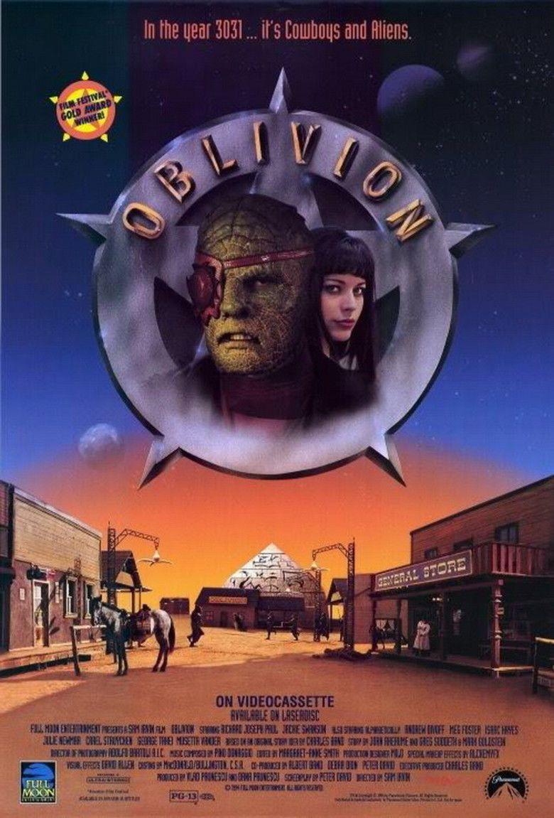 Oblivion (1994 film) movie poster