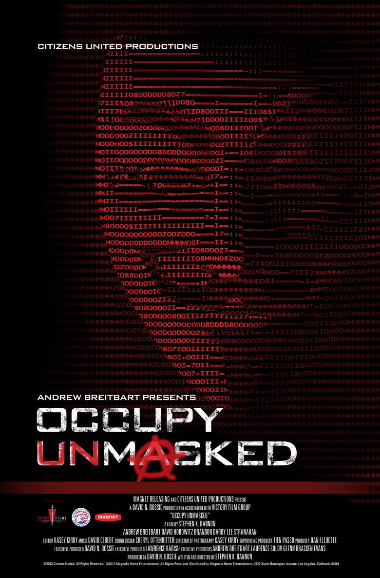 Occupy Unmasked movie poster