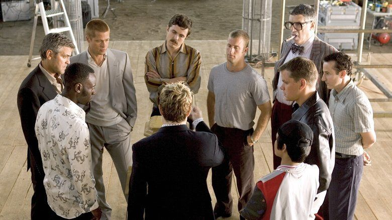 Oceans Twelve movie scenes