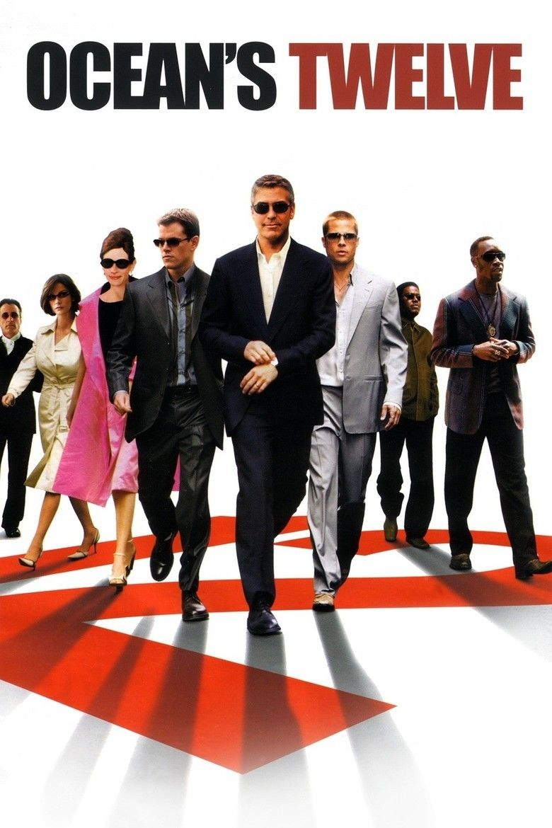 Oceans Twelve movie poster
