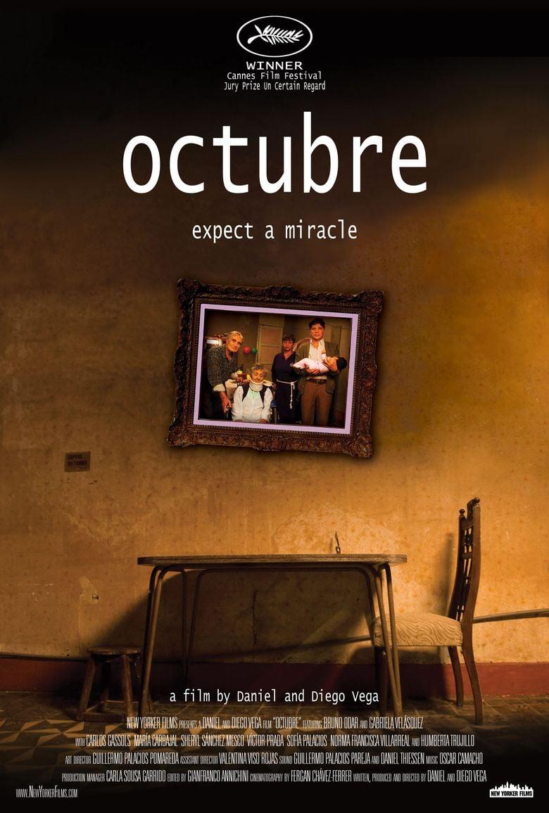 October (film) movie poster