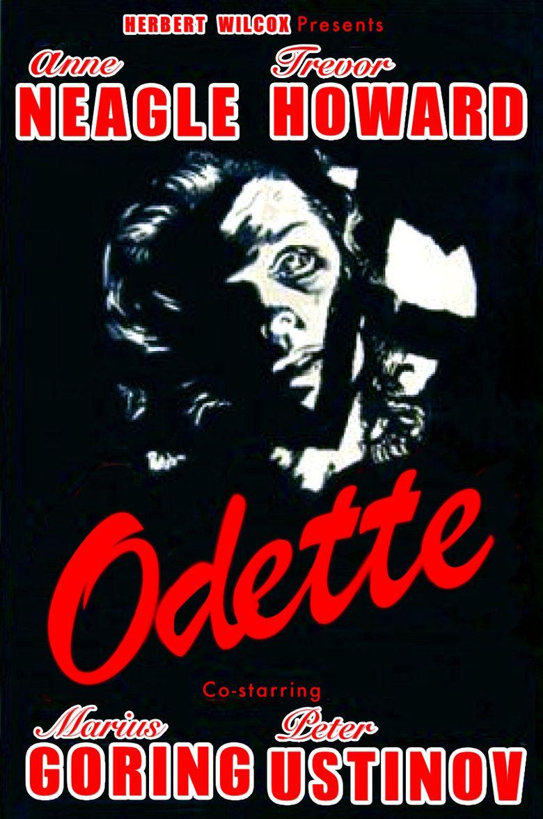 Odette (film) movie poster