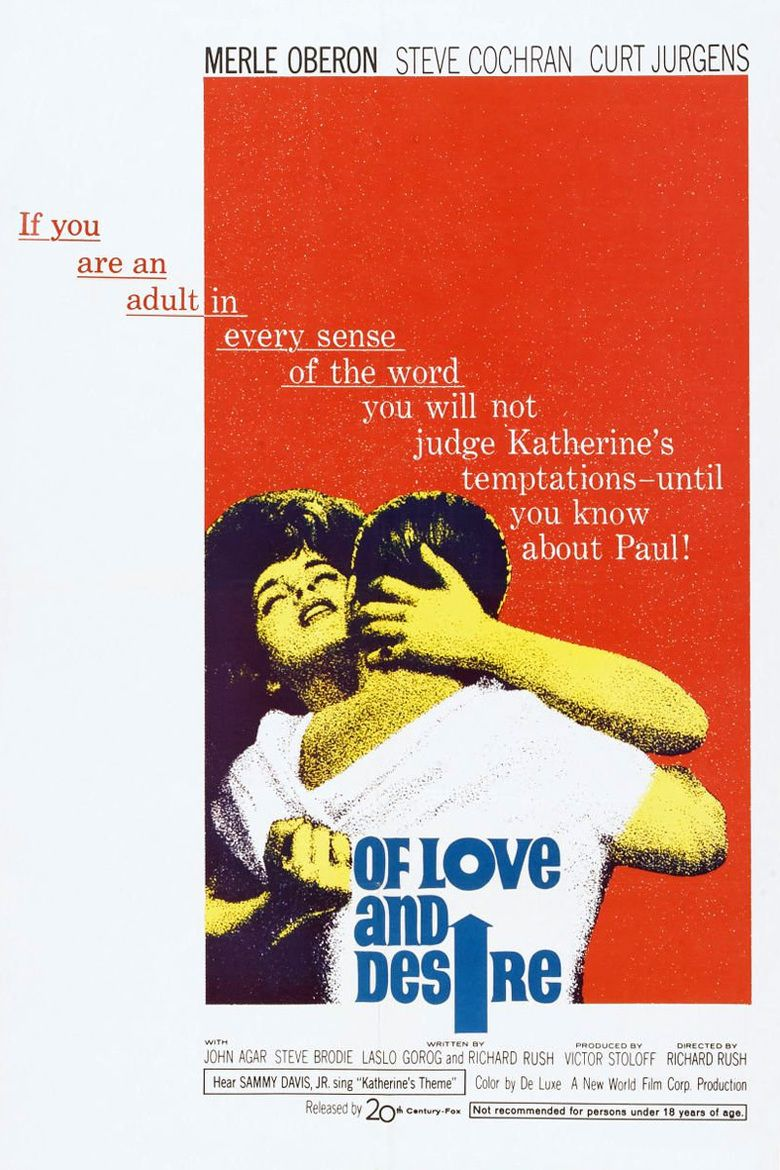 Of Love and Desire movie poster