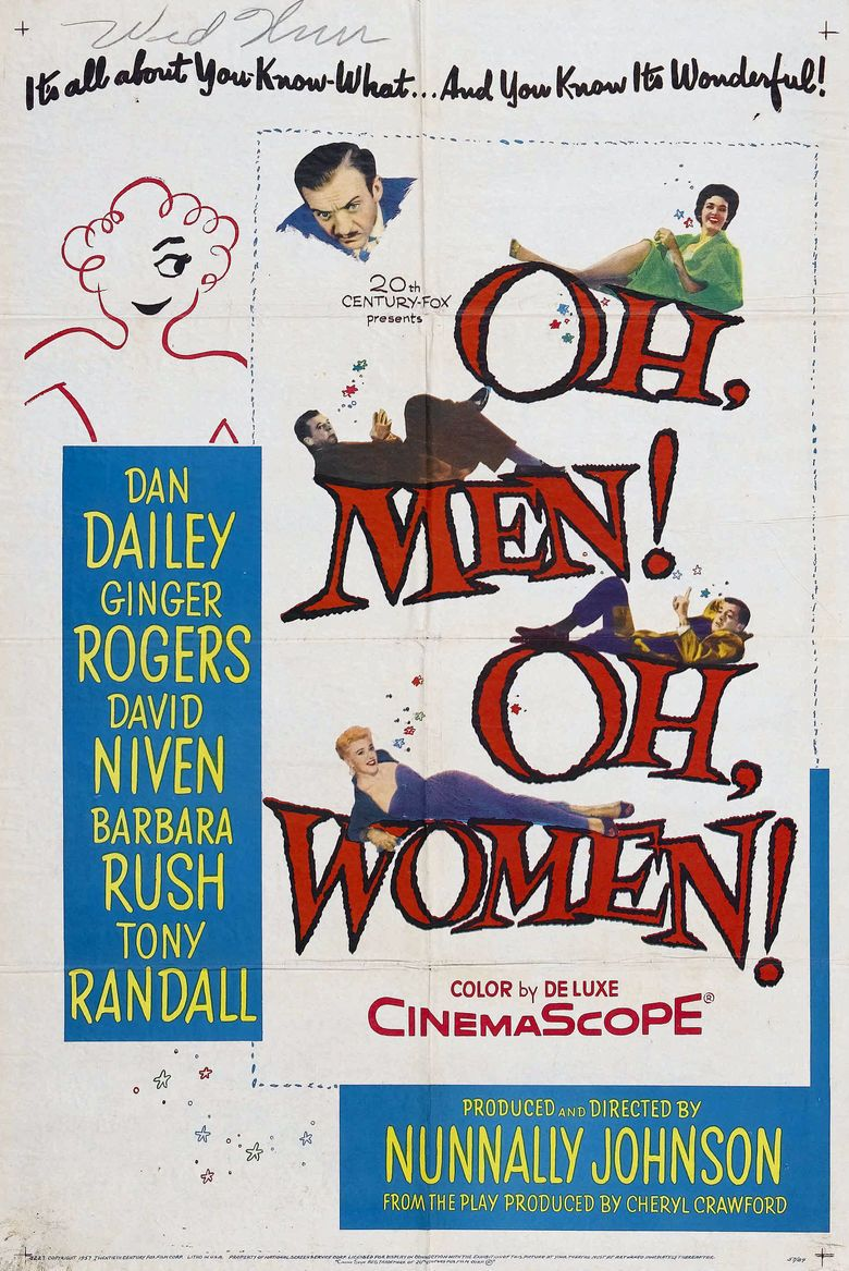 Oh, Men! Oh, Women! movie poster
