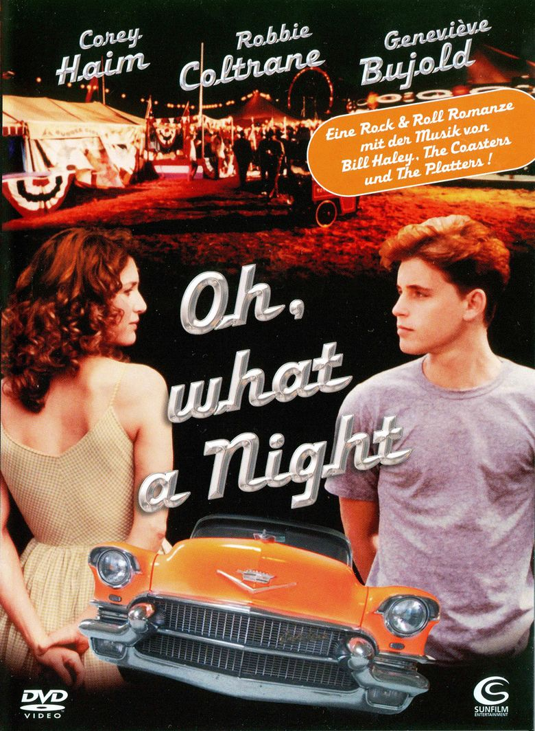 Oh, What a Night (1992 film) movie poster